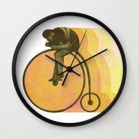 Pedal Wall Clock