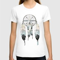 TRAUMFÄNGER Womens Fitted Tee White SMALL