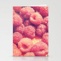 Raspberries Stationery Cards