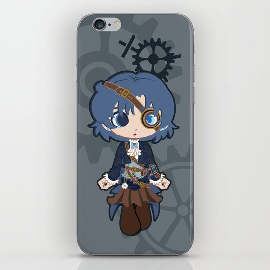 Steampunk Sailor Mercury iPhone & iPod Skin