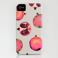 Pomegranate Pattern iPhone (4, 4s) Slim Case