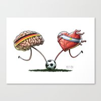 WORLD CUP FINAL 2014 Canvas Print