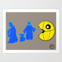 Thats No Moon Its A... O… Art Print