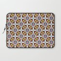 Wooden Cross Screen Pattern Laptop Sleeve