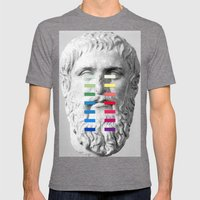 Sculpture With A Spectru… Mens Fitted Tee Tri-Grey SMALL