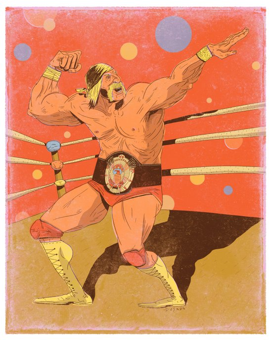 The Hulkster! Art Print