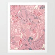 Shoe Love 2 Art Print