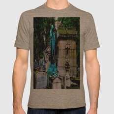 The Lady Weeps Mens Fitted Tee Tri-Coffee SMALL
