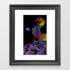 Lunar Variegation Phenomenon Framed Art Print
