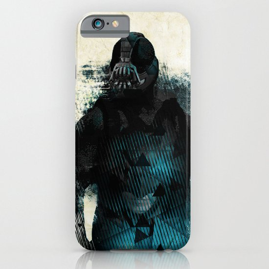 Abstract BANE iPhone & iPod Case