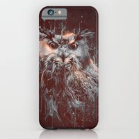 iPhone & iPod Case featuring DARK OWL by Ptitecao