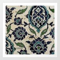 tile design Art Print