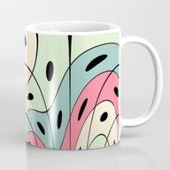 Wavy Pastel Shapes Mug
