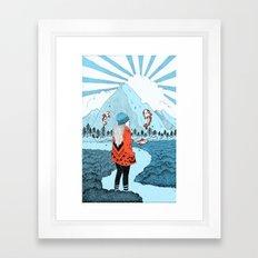 Wonderlanded Framed Art Print