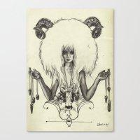A R I E S Canvas Print