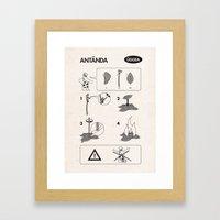 Flatpack Firestarter Framed Art Print