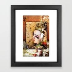 Triade (revised) Framed Art Print