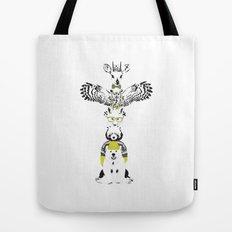 Hipster Totem Tote Bag