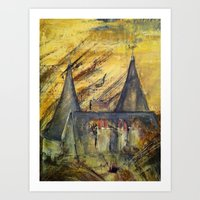 Country Castle Art Print