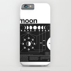Phases of the Moon infographic iPhone 6 Slim Case