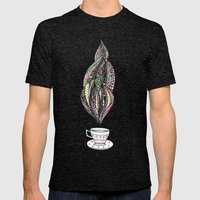 tea time Mens Fitted Tee Tri-Black SMALL