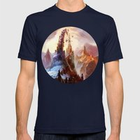 Mountain Mens Fitted Tee Navy SMALL