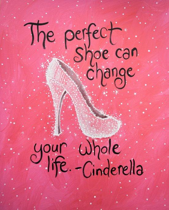 The Perfect Shoe Art Print