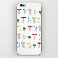 Mushroom Pattern  iPhone & iPod Skin