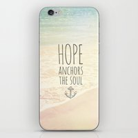 ANCHOR OF HOPE iPhone & iPod Skin