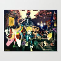 Final Adventure Fantasy Time! Canvas Print
