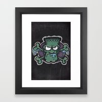 TURN THE CRANK, IT'S TIM… Framed Art Print
