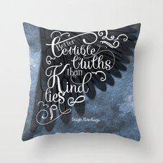 Six Of Crows Book Quote … Throw Pillow