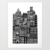 Castle Infinitus Art Print