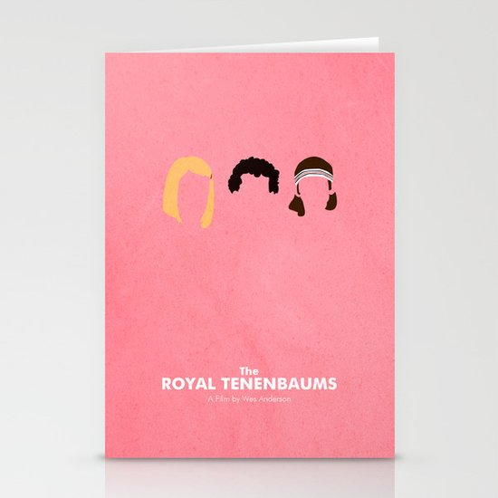 The Royal Tenenbaums Stationery Card