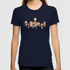 Firefly: The Gang - Revi… Womens Fitted Tee Navy SMALL