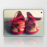 Two red shoes Laptop & iPad Skin