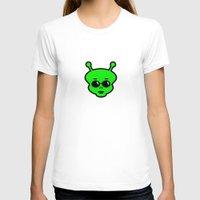 alien T-shirts featuring Alien by Spooky Dooky
