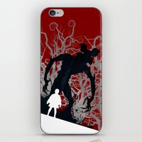 UPSIDE DOWN - TV Series | 80's | Cult | TV | Monster | Forest | Eleven | Movie | Poster iPhone & iPod Skin