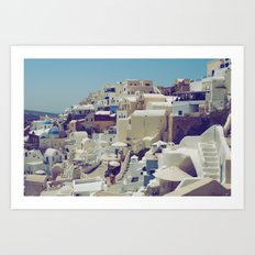 Oia, Santorini, Greece III Art Print