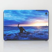 Sunset Swimmer iPad Case
