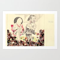 I Must Take You To See M… Art Print