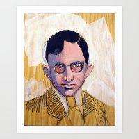 1935 Killed Huey Long (C… Art Print