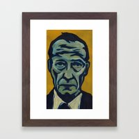 Burroughs Framed Art Print