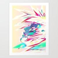 SIDE EFFECTS Art Print