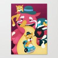 Mmmm Bacon Canvas Print