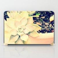 WhiteFlower iPad Case