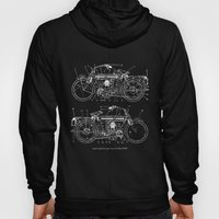 Motorcycle blueprint Hoody