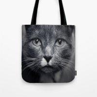 Les Yeux du Chat Tote Bag
