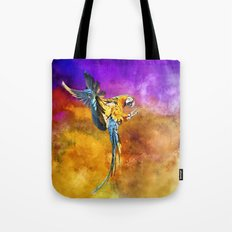 Dazzling Macaw Tote Bag