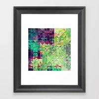 Gryyn xhrynk Framed Art Print
